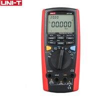 Uni T ut71b Профессиональный цифровой мультиметр alicate amperimetro как ac/dc ampere измеритель емкости Авто Диапазон Цифровой мультиметр