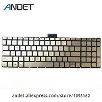 New Original For HP For ENVY X360 15 U 15 U000 15 u002xx 15 u010dx 15 u011dx US Keyboard with Backlit Silver