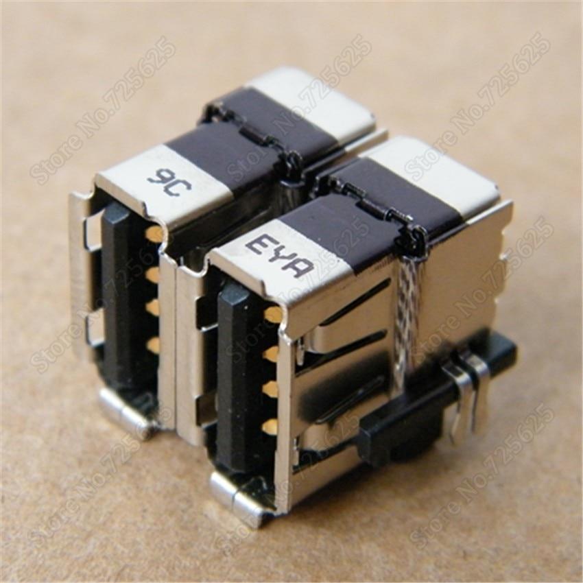 2.0 USB JACK SOCKET PORT FOR DELL D620 D630 USB CONNECTOR FREE SHIPPING 1PCS 2pcs 100pcs for laptop dell latitude e5540 usb 3 0 jack socket port connector 9 pin new