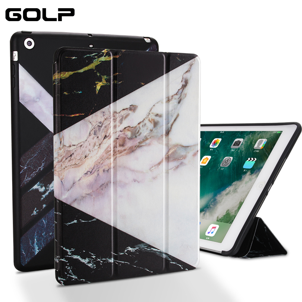 Case For IPad 4 3 2 PU Leather Silicone Soft Back Stand Auto Sleep Wake Up Smart Cover Air Ipad 1