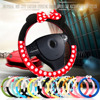 HSC Car Styling Car Steering Wheel Cover Cute Cartoon Universal Interior Accessories Set Women Man 16designs
