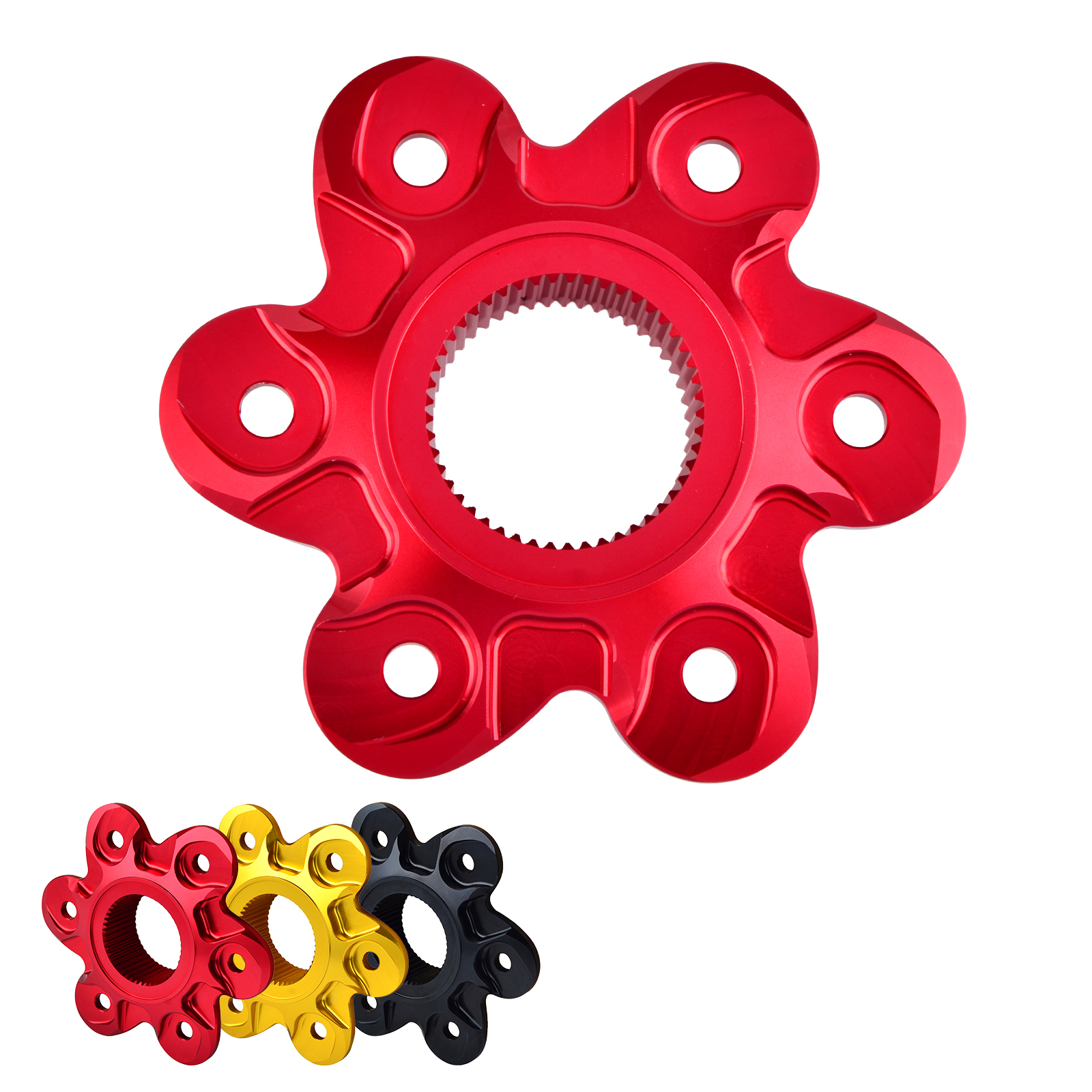 H2CNC Rear Sprocket Drive Flange Cover For Ducati 1299 1199 Panigale R S Monster 1200 R