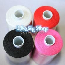 Огромная конусная полиэфирная швейная нить машина/нитки для ручного шитья 1000 ярдов x 10 шт высокая прочность для любой швейной машины