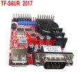 TF TF-S6UR (TF-S5UR) USB + Последовательный порт СВЕТОДИОДНЫЙ контроллер 1 * HUB08 + 2 * HUB12 Одного и двухцветный СВЕТОДИОД контроллера карты 10 шт./лот