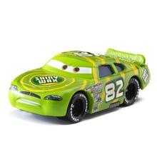 Disney Pixar coches de carreras 82 Rayo McQueen Mater Jackson tormenta Ramírez 1:55 fundición de aleación de Metal modelo de juguete para el regalo de los niños