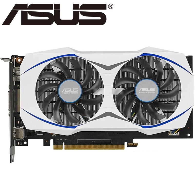 Видеокарты ASUS GTX 950 2 Гб 128 бит GDDR5, видеокарта для карт nVIDIA VGA Geforce GTX950 б/у мощнее, чем GTX 750 TI 650