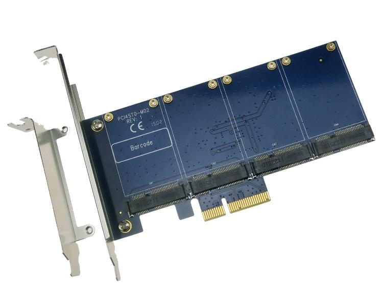 Здесь продается  4 mSATA SSD PCI-e Hybrid Controller Card RAID0 RAID1 RAID10 Marvell HyperDuo SATAIII PCIe flash solutions accelerates databases  Компьютер & сеть