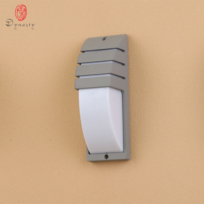 Dynasty Outdoor Wall Lights Aluminio LED Lámpara de pared A prueba de agua Jardín Iluminación Apliques Patio Patio Porche Villas Super Brillante