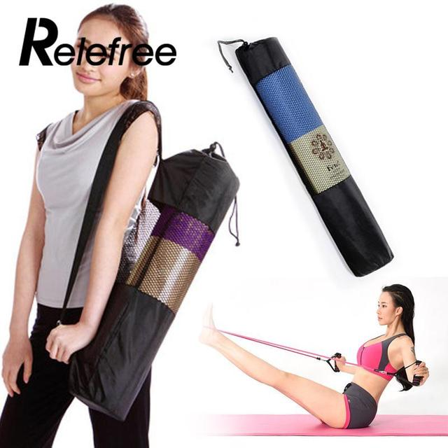 New Convenience Blackyoga backpack yoga mat waterproof backpack yoga bag Nylon Pilates Carrier Mesh Adjustable Strap Sport Tool