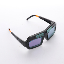 1 pcs Solar Energy Automatic Dimming Welding Glasses Double Layer Rapidly Lightening Goggles Gas Cutting Safety