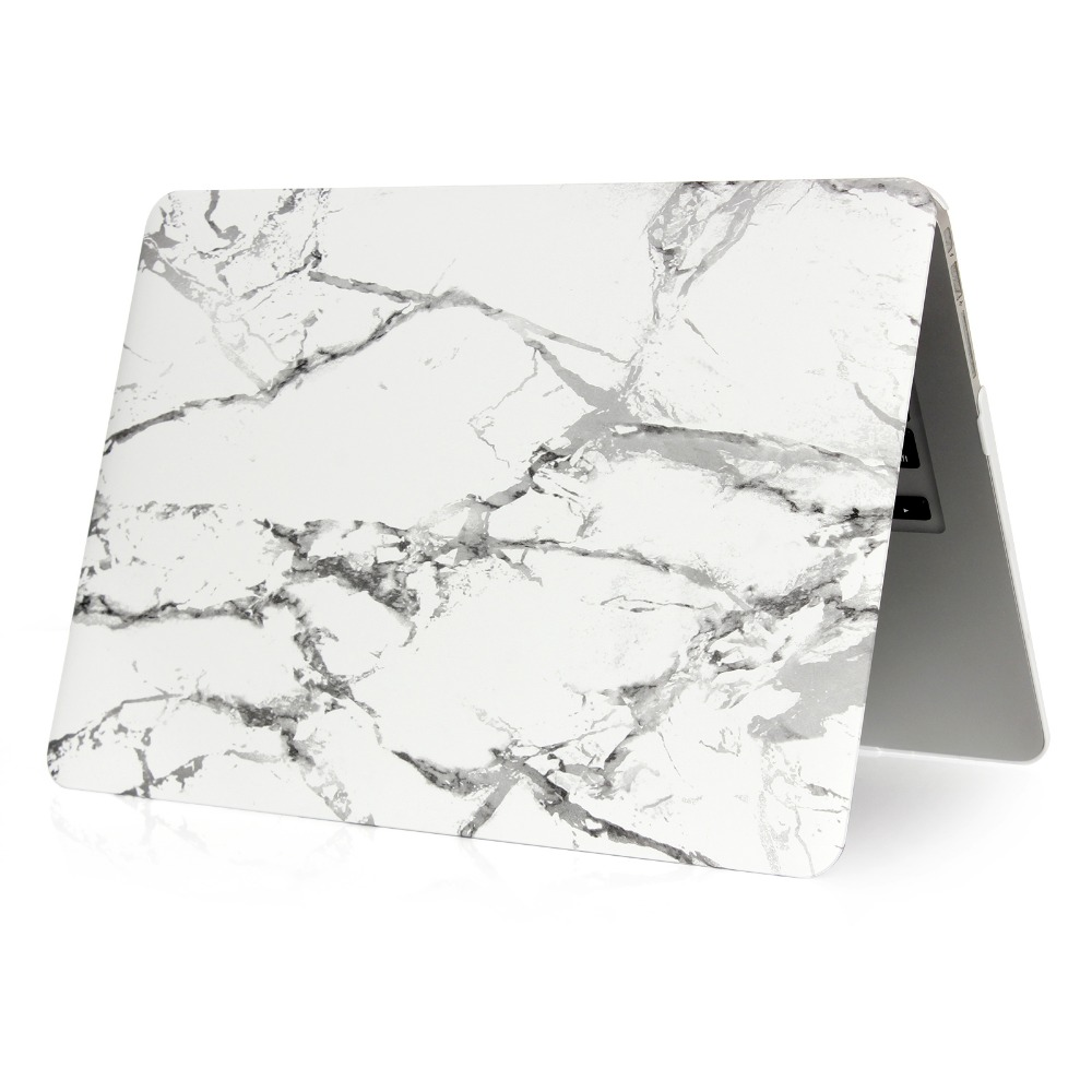 Image 2 - Marble Pattern Hard Case & Keyboard Cover For Macbook Pro 13.3 15.4 Pro Retina 12 13 15 inch for Mac book Air 11 13 Laptop Case-in Laptop Bags & Cases from Computer & Office