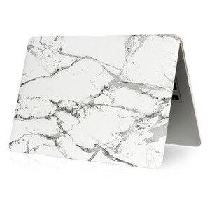 Image 2 - Marmor Muster Hard Case & Tastatur Abdeckung Für Macbook Pro 13,3 15,4 Pro Retina 12 13 15 zoll für Mac buch Air 11 13 Laptop Fall