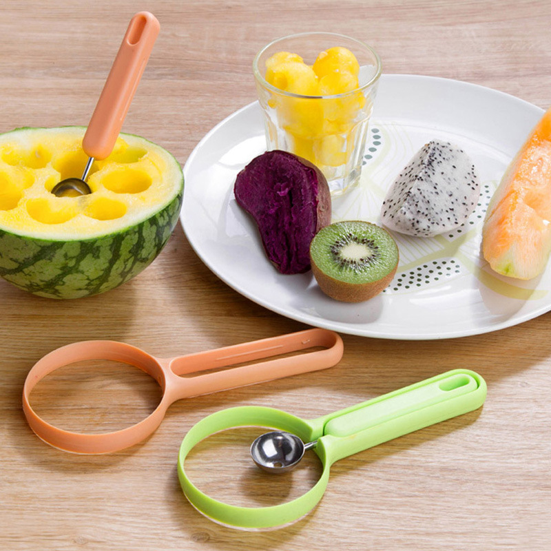 2 шт./компл. дыни Совок Ballers ложка фрукты овощи инструменты Кухня гаджеты доступа