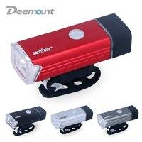 5W Bicycle Front Light USB Rechargeable High Power LED Head Lamp Handlebar Lighting Lantern Bike Cycling