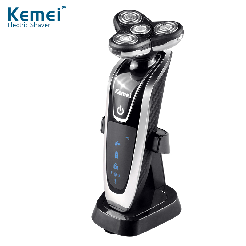 YingJiLi8871 Washable Rechargeable Electric Shaver Triple Blade Electric Shaving Razors Men Face Care 3D Floating Free Shipping kemei7000 3 in1 washable rechargeable electric shaver triple blade electric shaving razors men face care 3d floating km 7000