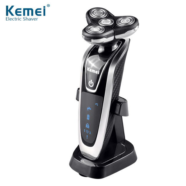 YingJiLi8871 Washable Rechargeable Electric Shaver Triple Blade Electric Shaving Razors Men Face Care 3D Floating Free Shipping