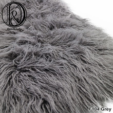 (75*50cm) Faux Fur MONGOLIAN FUR Blanket Basket Stuffer Photography Props Newborn Photography Props