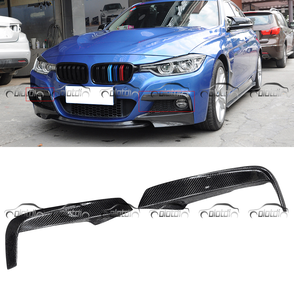 MAD Style Front Splitters Bumper Lip Aprons Side Spoiler Carbon Fiber for BMW F30 F31 M-Tech Body Kits OLOTDIMAD Style Front Splitters Bumper Lip Aprons Side Spoiler Carbon Fiber for BMW F30 F31 M-Tech Body Kits OLOTDI
