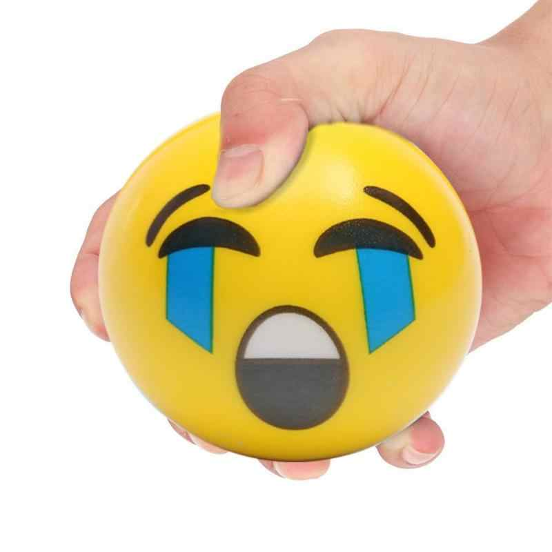 Gesicht Ausdruck Squeeze PU Hand Handgelenk Übung Stress Relief Lustige Langsam Rebound Ball Neuheit Gag Interessant Spielzeug Für Kinder