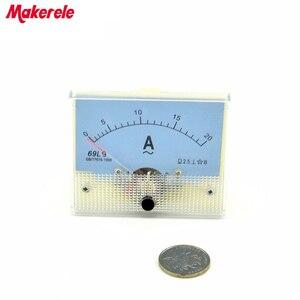 Новые поступления AC 69L9 (20A) Аналоговый Амперметр Панель ток Ампер метр указатель диагностический инструмент амперимметр тестер