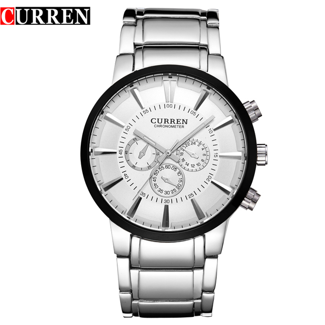 Hot Selling CURREN Luxury Top Brand Men Watch Steel Quartz Watches Business Casual Wristwatch Relogio Masculinos