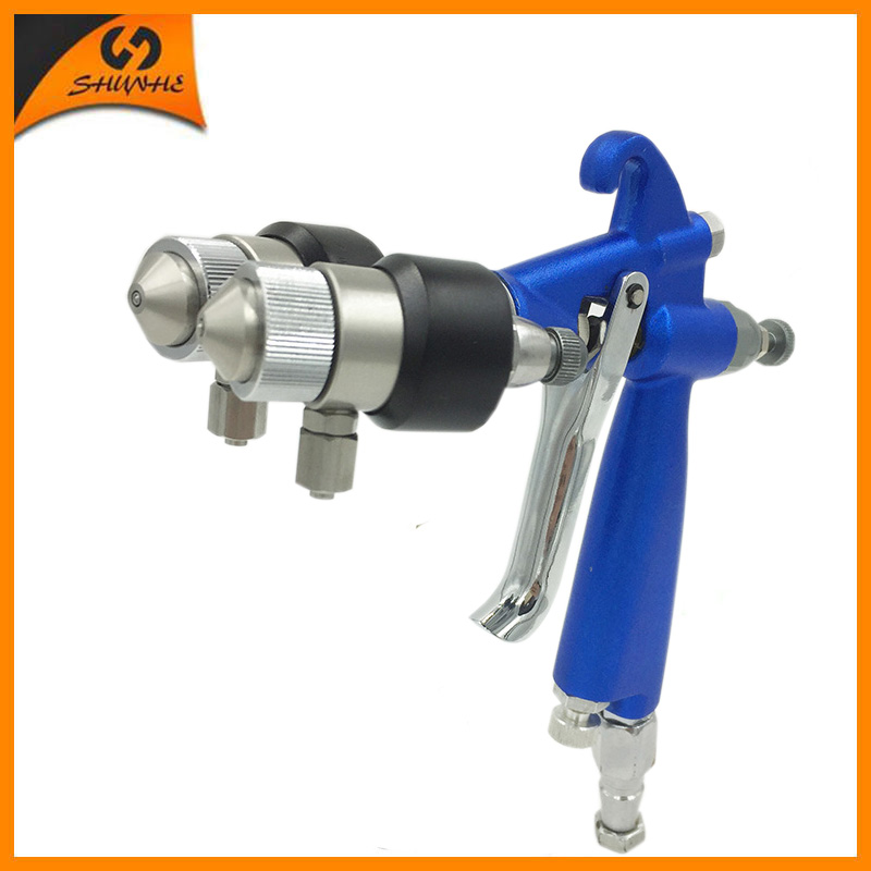 SAT1201 profissional pintura pulverizador pistola de pintura compressor de ar máquina do chapeamento do cromo auto tinta spray