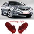 2x Sonata 8 Laser Projector LED Door Logo Ghost Shadow Light For Hyundai 2010--2013 Sonata 8