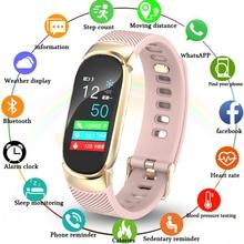 цена 2019 New Smart Watch Men Women Sport Waterproof Bracelet Ladies smartwatch heart rate monitor Pedometer fitness tracking band онлайн в 2017 году