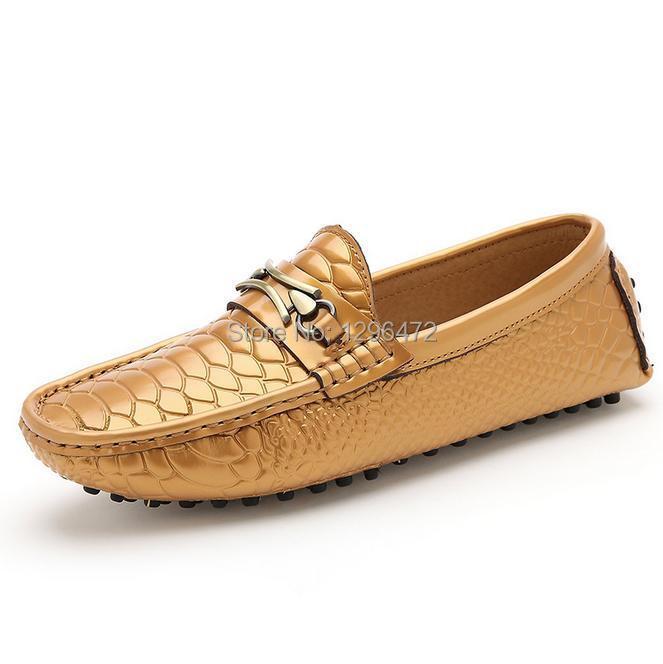 Summer burst men's shoes Han edition doug shoes leather