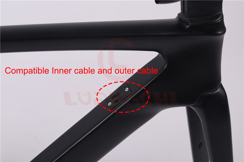 Downtube Inner and outer cable
