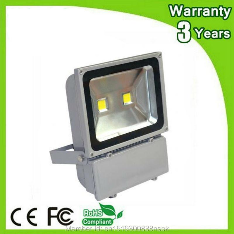 ФОТО (12PCS/Lot) Epistar Chip 3 Years Warranty Thick Housing Waterproof 100W LED Floodlight LED Flood Light Outdoor Spotlight Bulb