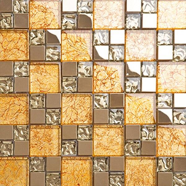 Gelb Glas Partition Design Küche Backsplash Materialien U Bahn .