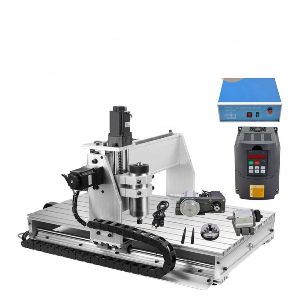 CNC 6040 4 AXIS CNC Router desktop Engraving Machine for multifunctional engraving milling acctek 6040 4040 cnc router cnc 6040 4 axis mini cnc machine 4 axis router