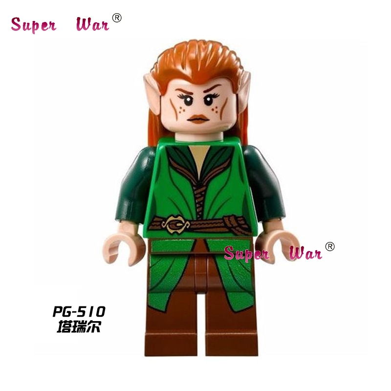 1PCS star wars superhero The Hobbit Tauriel LOTR movie building blocks action sets model bricks toys for children