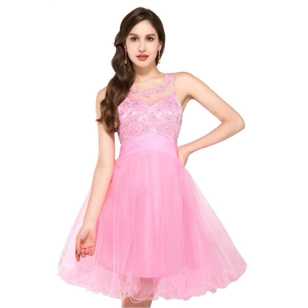 Azul Rosa verde corta Vestidos de baile 2017 o Masajeadores de ...