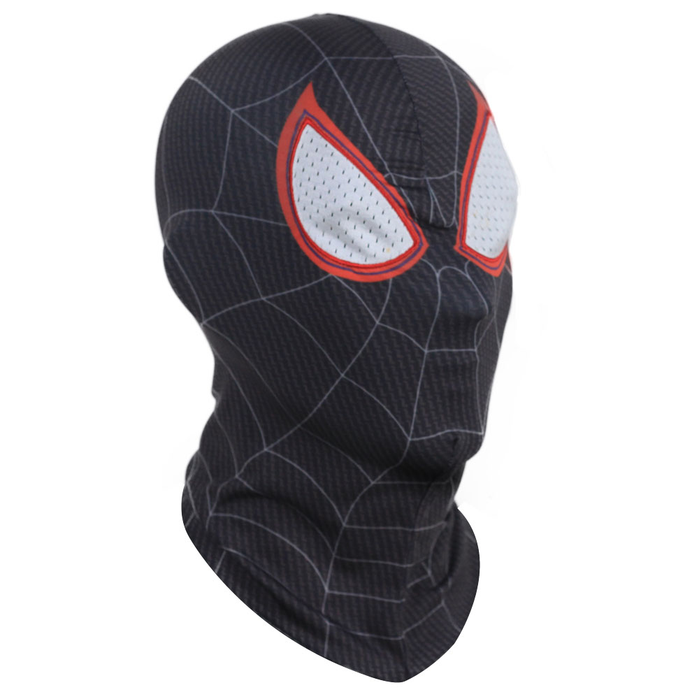 Spider-Man Into the Spider-Verse Mask Cosplay Gwen Stacy Peter Parker Miles Morales Masks Superhero Spiderman Helmet Party Prop4