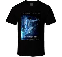 Ghost In The Shell Imax Poster Sci Fi Cult Movie T Shirt
