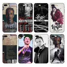 HOUSTMUST Logic Under Pressure Deluxe Graphic Black Soft Phone Case Cover For iPhone 7 6s 6 8 X 5 5S 6plus 7plus 8plus XR XS max