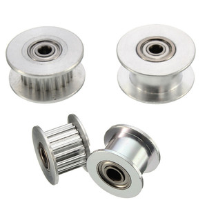 16T/20T GT2 Aluminum Timing Pulley With/Without Tooth For DIY 3D Printer(China)