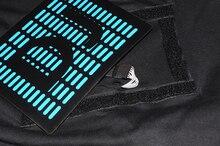 DJ Equalizer LED light T-shirt with inverter box