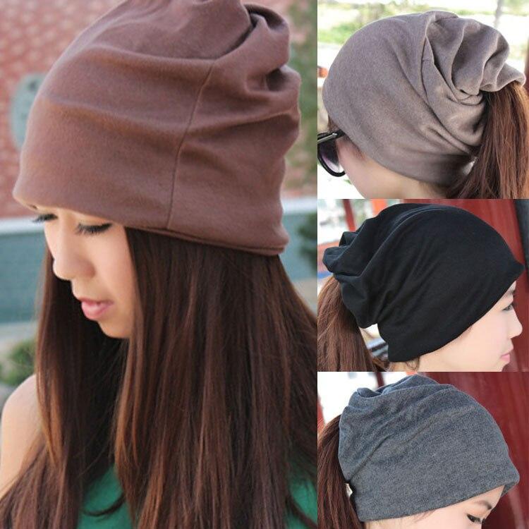 Tienda Online Otoño 2014 Cap inconformista hombres mujeres Caps sombreros  moda de punto Knit diademas sombrero Beanie Unisex cálido turbante otoño  invierno