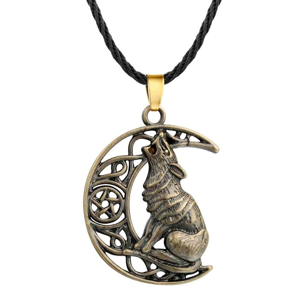 Chereda Valknut odyna Symbol Norse naszyjniki dla mężczyzn Punk Viking słowiański wisiorki Hip Hop biżuteria