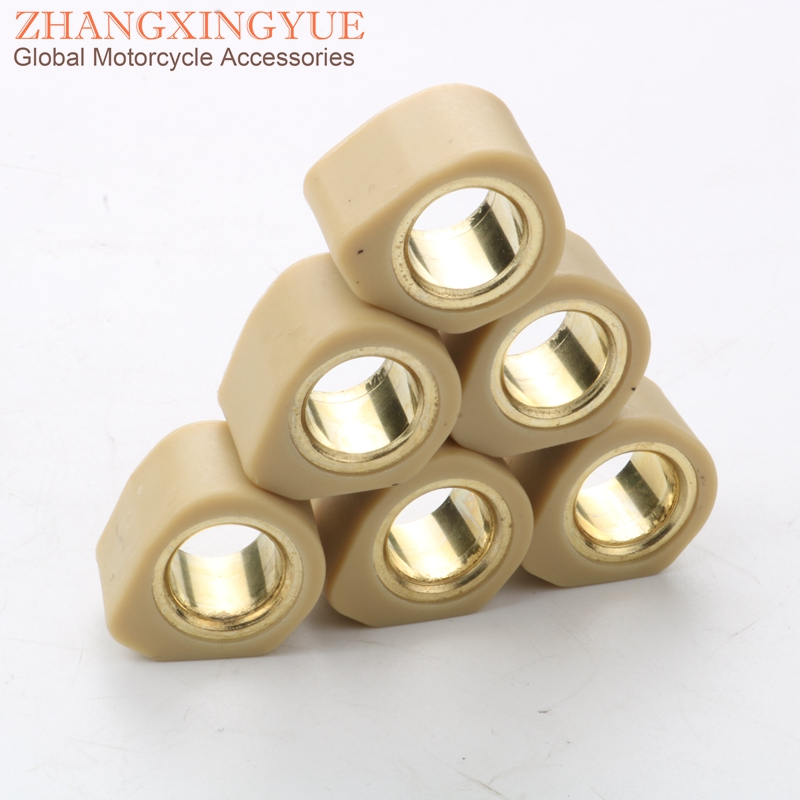 High Performance Variator Weights Round 20x15mm 15G For SYM Joyride 150 200 Joymax 125/200 HD200 EV150 RV180