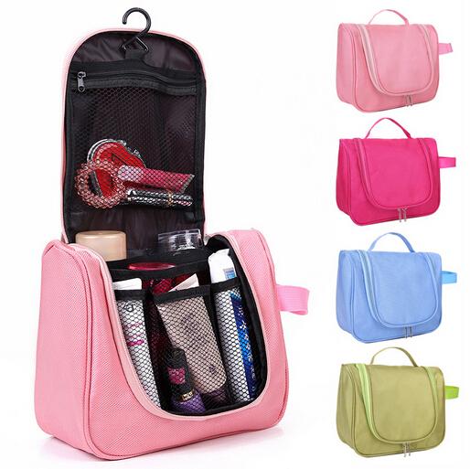 Nueva necessaries cosmético del organizador del artículo de tocador bolsa para mujeres hombres kits de viaje bolsas de maquillaje organizador de maquiagem CB00003