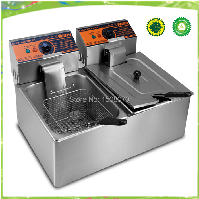 220v 12L Electric Deep Fryer for Spiral Potato/Twister Potato/Tornado Potato/Fry Potato/Churros/Chicken potato p4103