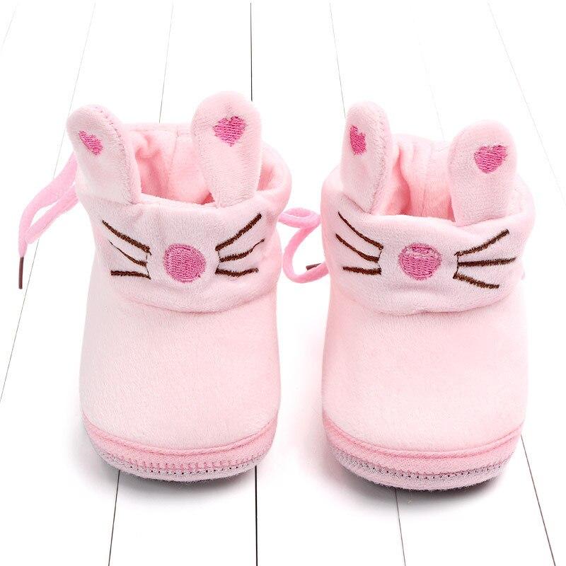 Indoor First Walkers Baby Shoes Cotton Anti-slip Booties Winter Wammer Baby Girl Boy Shoes Newborn Slippers Footwear Booties (19)