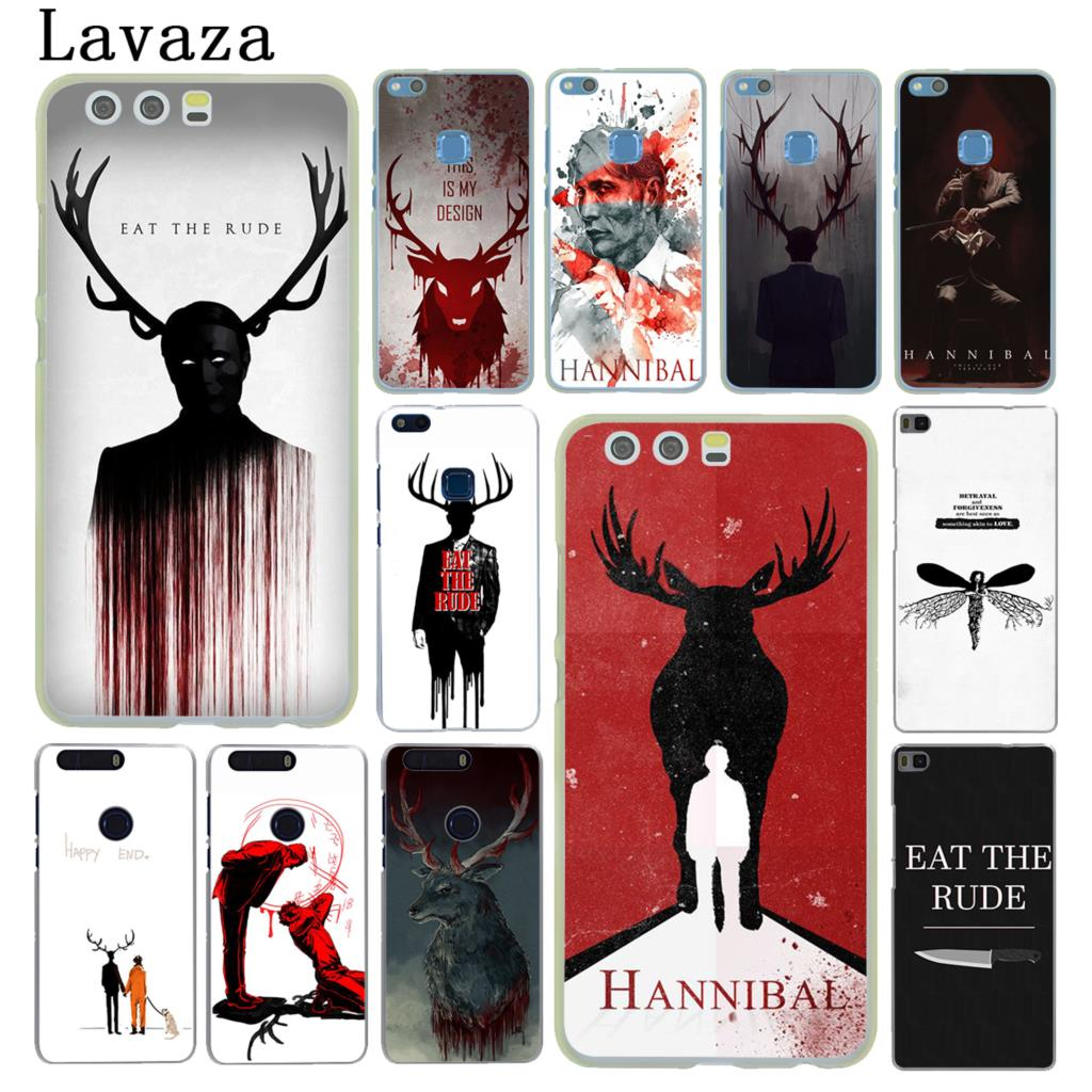 Lavaza Hannibal eat the rude Hard Cover Case for Huawei P20 P10 P9 Plus P8 Lite Mini 2015 2016 2017 P Smart & Mate 9 10 Lite Pro ...