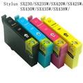 8ink 129 cartucho de tinta compatível para epson stylus sx230/sx235w/sx420w/sx425w/sx430w/sx435w/sx438w impressoras