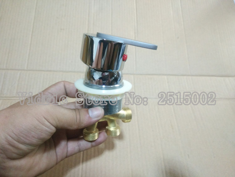 2 inlet 1 outlet bathroom brass conversion water separator, Massage bathtub mixer faucet accessories hot and cold water switch
