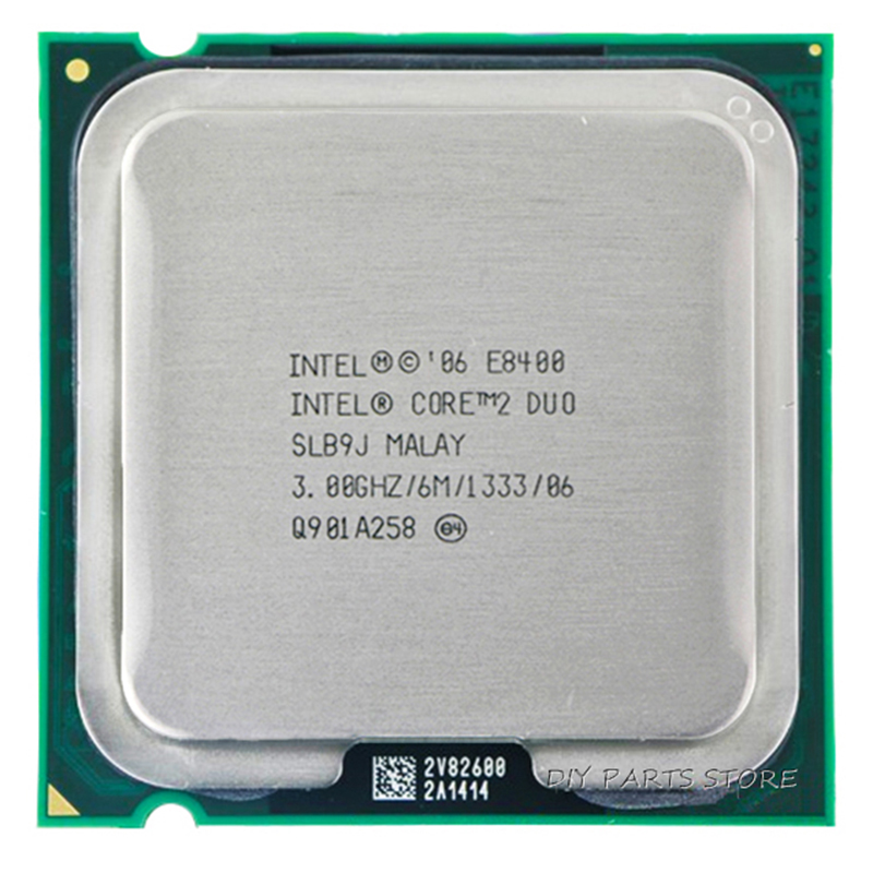 INTEL Core 2 Duo DUAL CORE E8400 CPU Processor INTEL E8400 CPU  (3.0Ghz/ 6M /1333GHz) Socket 775 core 2 duo e8400 в питере